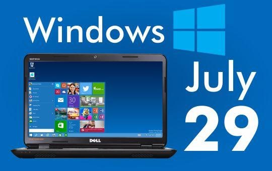 Microsoft launching Windows 10 on July 29 2015. - Insights Success