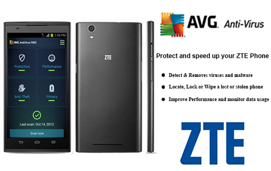 Avg S Antivirus Pro Software On All New Zte Phones