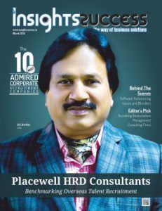 Cover Page - The 10 Most Admired Corporate companies - Insights Success